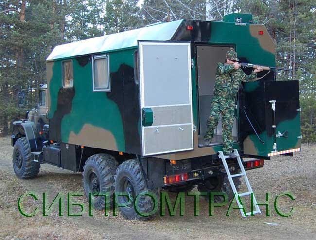 грузовики для охоты и рыбалки